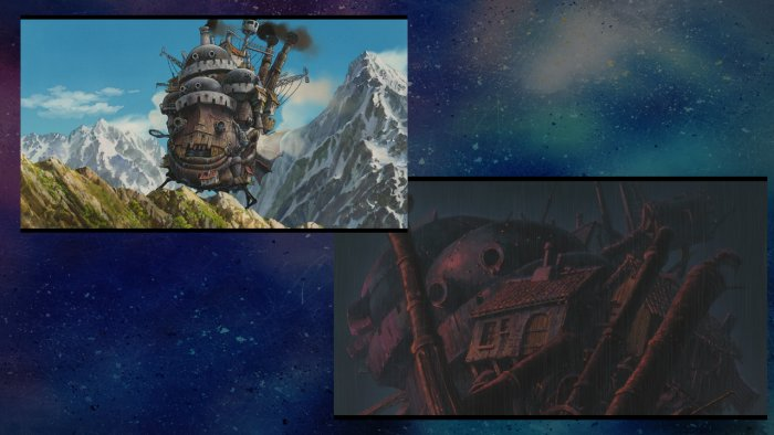 The Castle in Howl's Moving Castle
